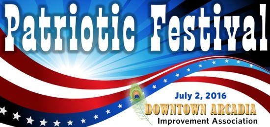 patriotic festival in arcadia