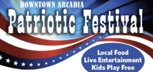 Win prizes at Arcadia's Patriotic Festival