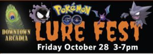 Pokémon Go Lure fest for Halloween